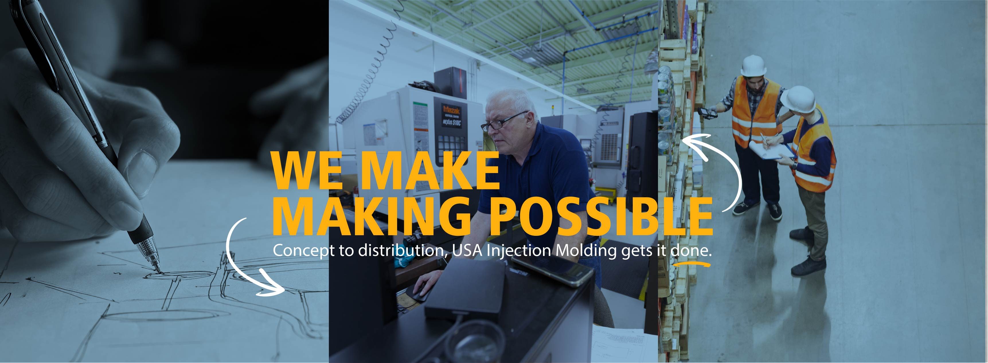 USA Injection Molding - Taking Your Idea From Design to
